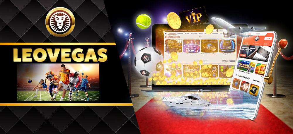 LeoVegas Casino pour les parieurs.
