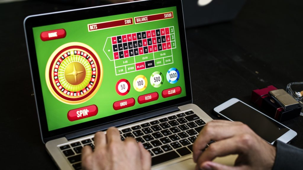 playing internet-based casino games